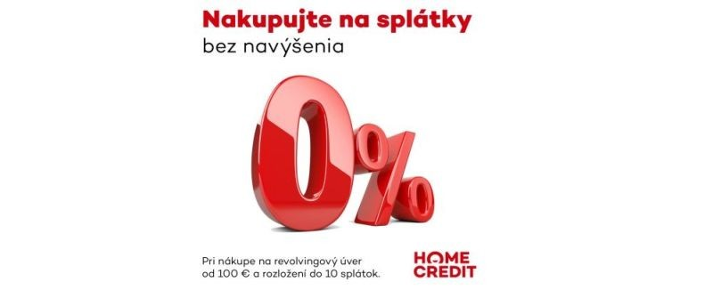 home credit 0 percent