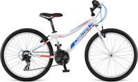 bicykel DEMA ISEO 24 WHITE-BLUE 2016