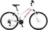 bicykel DEMA ECCO LADY 3.0 WHITE-RED 2017
