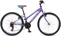 bicykel DEMA ISEO 24 LADY VIOLET-BLUE 2017