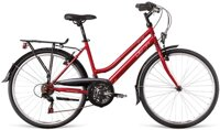 bicykel DEMA ORION LADY RED-WHITE-BLACK 2018