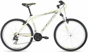bicykel ALPINA ECO M10 WHITE-LIME 2016