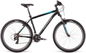 bicykel DEMA PEGAS 1.0 black-blue-gray 2018
