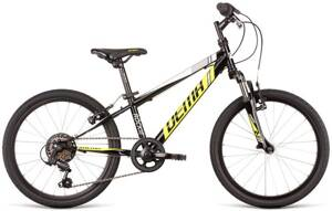 bicykel DEMA ROCKIE 20 SF black-neon yellow 2020