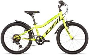 bicykel DEMA VEGA 6SP neon yellow-black 2020