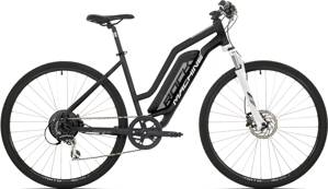 e-bike ROCK MACHINE CROSSRIDE e350 Lady black-silver-white 2019