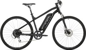 e-bike ROCK MACHINE CROSSRIDE e350 black-silver-grey 2019