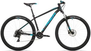 bicykel ROCK MACHINE MANHATTAN 40-29 black-blue-grey 2020
