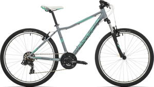bicykel ROCK MACHINE CATHERINE 26 grey-mint 2019