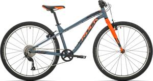 bicykel ROCK MACHINE THUNDER 26 grey-orange 2019