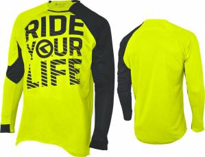 dres KELLYS RIDE YOUR LIFE dlhý rukáv lime