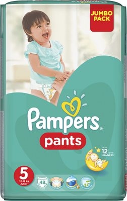 plienky PAMPERS Pants 5, 48 ks