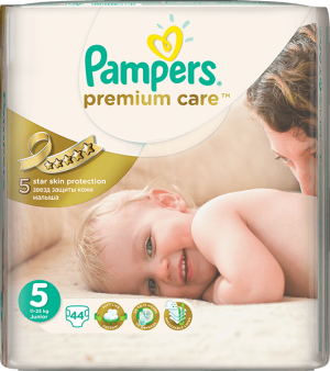 plienky PAMPERS Premium Care 5 JUNIOR, 44 ks