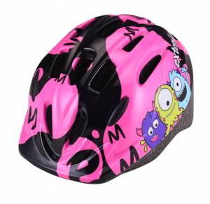 Prilba Extend BILLY Monster neon pink S/M (51-54cm)