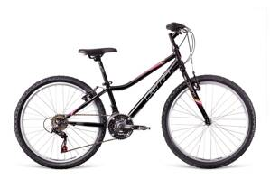 Bicykel Dema ISEO 24 black-white-magenta